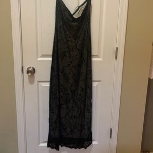 Rampage sheer Full length evening gown